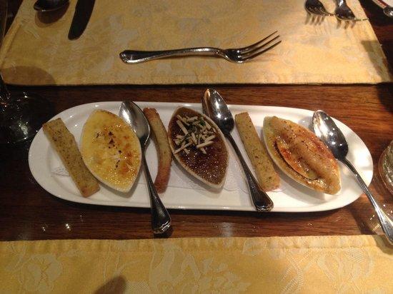 Restaurante Grano de Oro: Creme bruelee