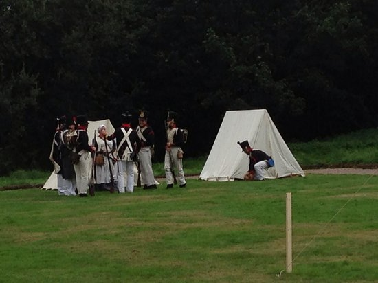 Middleton Hall: Reenactments at the hall