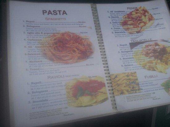 Romano's Pizza: Menu