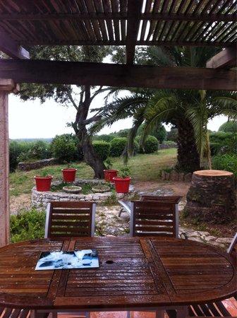 Residence Terra Marina: Terrasse de la mini villa