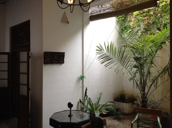 The Reed Boutique Hotel: Small patio