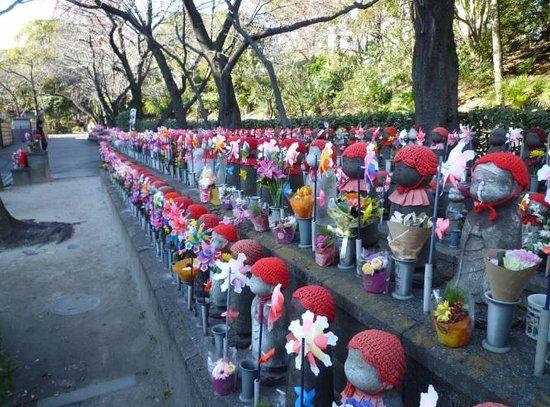 Zojoji Temple : お地蔵さん