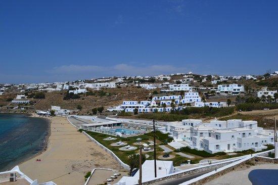 Akrotiraki: View from room nr.2