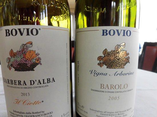 Bovio : wine