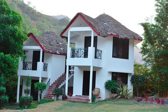 Sattva Spa and Wellness Retreat: The very tastefully done cottages