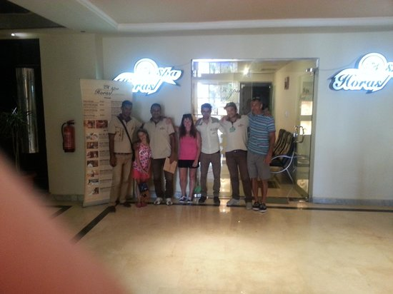 great people from the  AMC Royal Hotel 5* Єгипет,  Хургада - photo