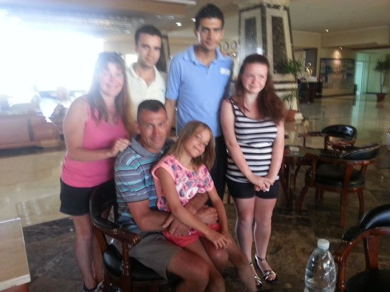 more friends in reception  AMC Royal Hotel 5* Єгипет,  Хургада - photo