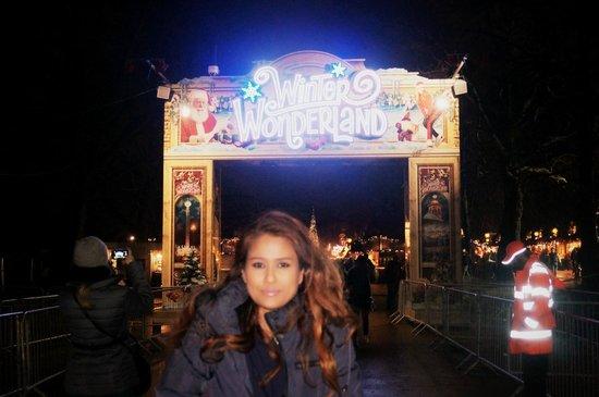 LissaCaldina@Winter Wonderland 2013/2014, LONDON