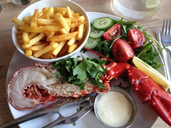 Fogg's of Ventnor: The lobster ��