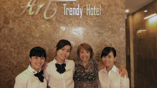 Golden Art Hotel : Un equipo humano de categoría