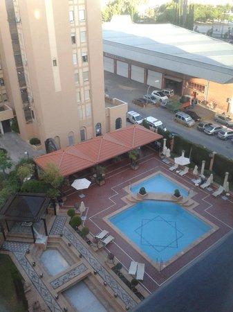 Saray Hotel: Vistas de piscina desde la planta 5ª