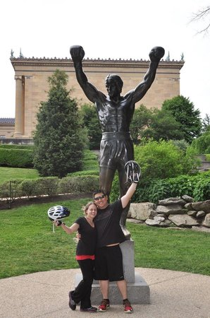 Philly Bike Tour Company: End of our 13 miles bike tour.