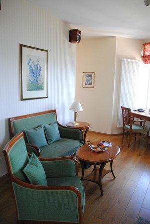 Strandhotel Sassnitz: Wohnbereich