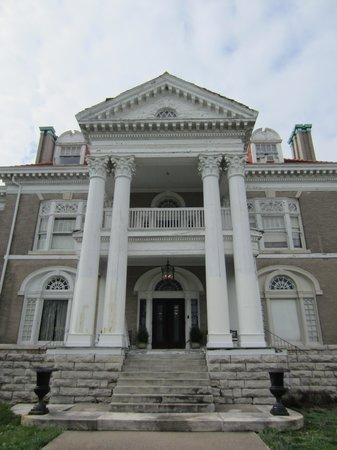 Rockcliffe Mansion: front entrance