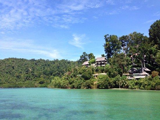 Gaya Island Resort : My Room 852