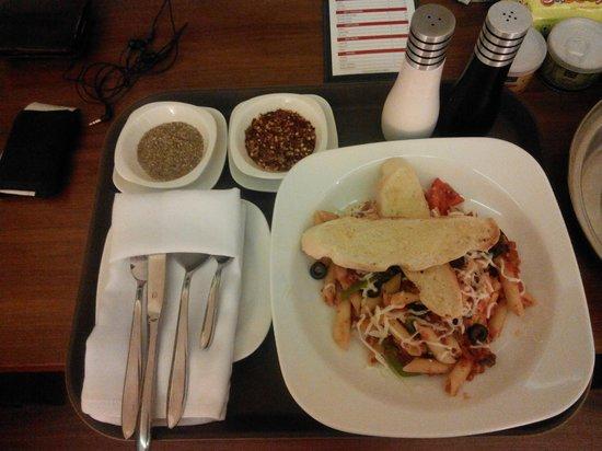 Caspia Hotel : inroom dining