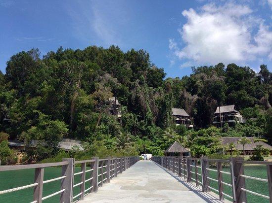 Gaya Island Resort : Boat transfer to the resort