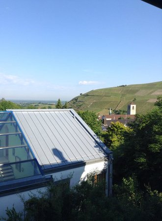 Hotel Heiligenstein: Вид с балкона второго этажа