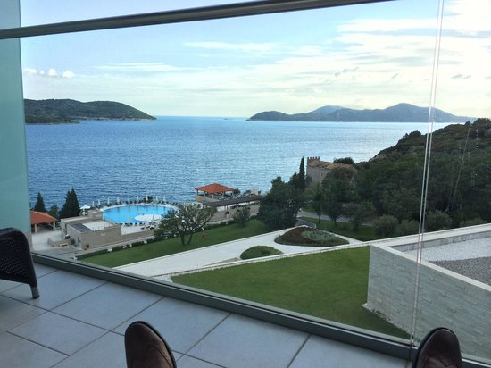 Sun Gardens Dubrovnik: Part of my balcony view ��