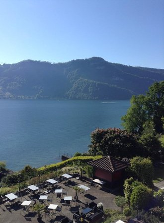 Seehotel Kastanienbaum : Вид на озеро