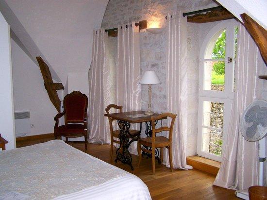 Domaine de La Rhue : Our room Rouanne.