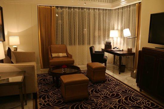 The St. Regis Abu Dhabi: St Regis Hotel - Suite Living Room