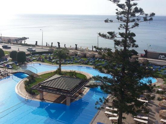 Oceanis Hotel: balcony view 2014