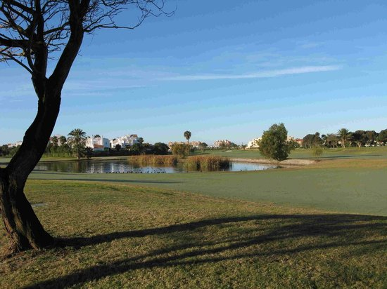 Club De Golf Playa Serena: View from 13th tee to 14th hole