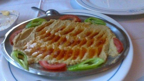 Sultanahmet Buhara Kebab House : Humus