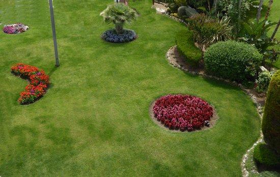 Hotel Checkin Sirius : Sus jardines
