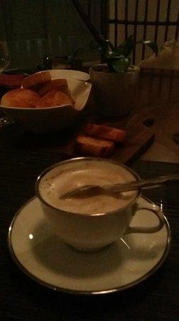Acacia Tea Salon: Mushroom Soup