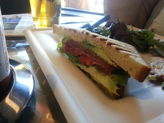 2Good2B Bakery & Cafe: BLT and A(vocado) sandwich.