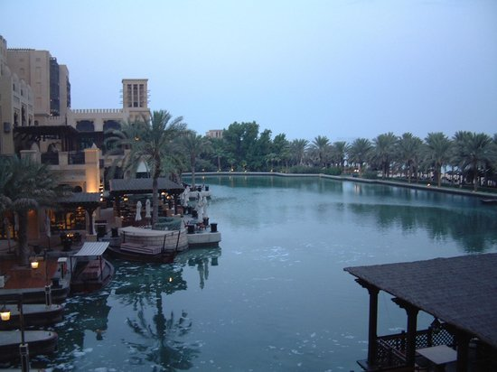 Jumeirah Mina A'Salam: Morning view from balcony