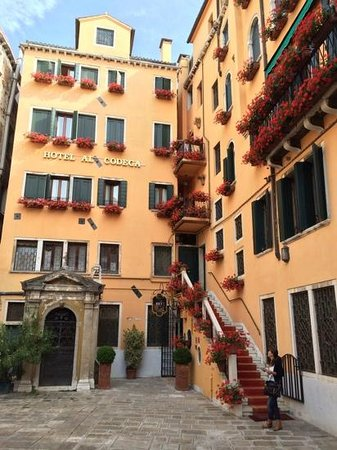 Hotel Al Codega: Eingang Hotel