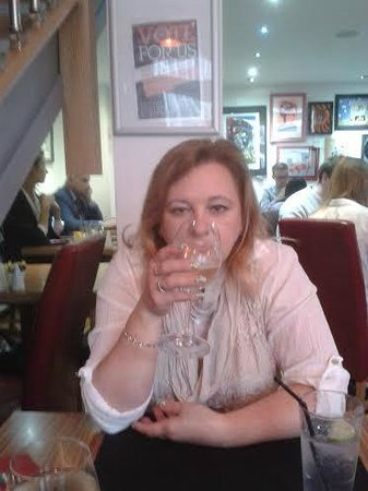 Toast Cafe Bar & Grill Restaurant Blackpool : Cheers my darling
