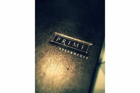 Prime Steakhouse : Prime Menu