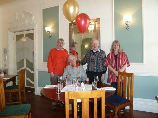 The Clarendon Hotel: Birthday splash