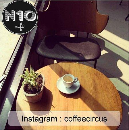 N10 cafe: Instagram from customer