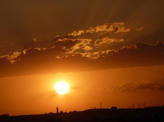 Marhaba Royal Salem: Sonnenuntergang