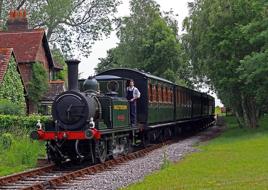 Wootton, UK: Victorian Train