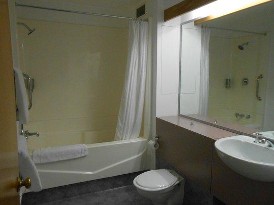 Amity Lodge Motel: Bathroom