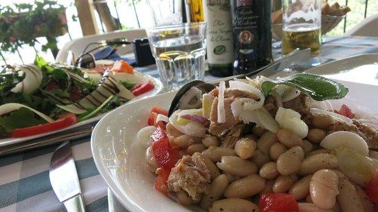 L'indicatore: Arugula and parmesan