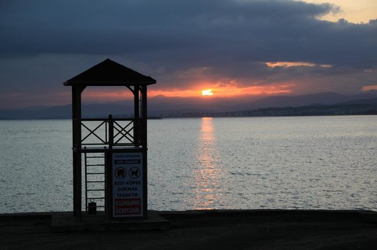 Halic Park Hotel : エーゲ海の朝陽