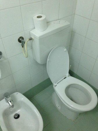 Hotel del Centro : Toilette