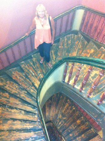 Hotel Justus: Hotel Staircase