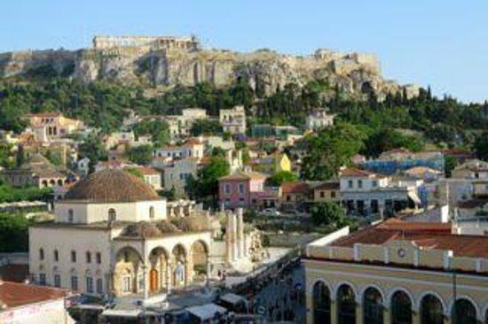 A for Athens: Vista dalla camera