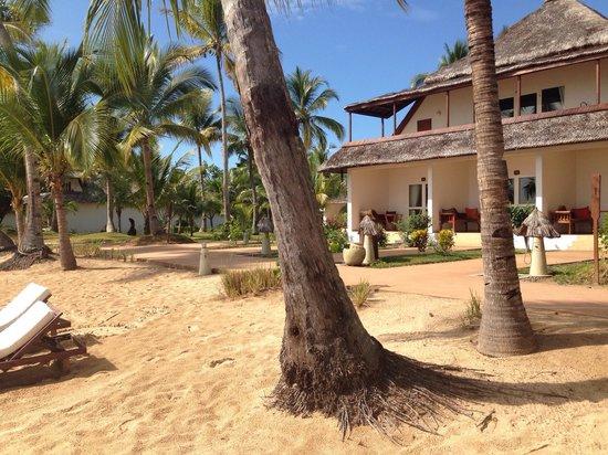 VOI Amarina resort: Camere con accesso diretto alla spiaggia