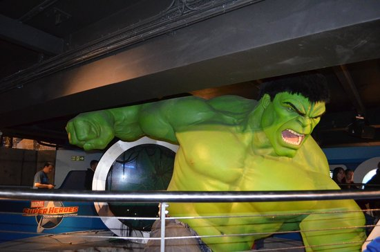 Madame Tussauds London : Hulk