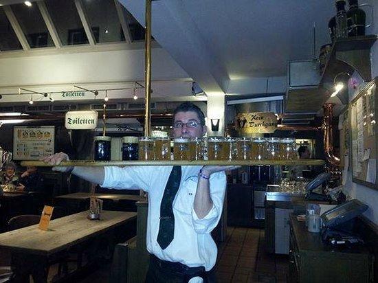 Hansens Brauerei: 1m of beer!