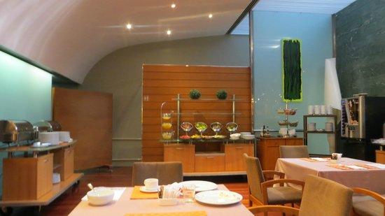 Aparthotel Atenea: интерьер ресторана